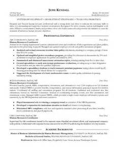 recruiting coordinator resume objective exle resume recruiting coordinator resume exles and writing tips the balance