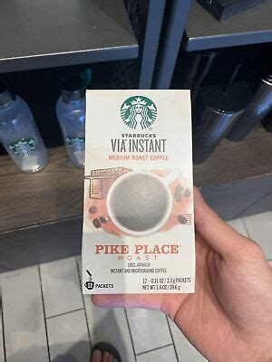 Pike place is a registered trademark of the pike place market pda, used under license. Starbucks Via Instant Coffee Pike Place Roast 12COUNT EXP 03/2021 NEW 6 package 762111934697 | eBay