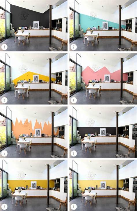 simulateur de peinture cuisine 1000 idées sur le thème peintures murales sur