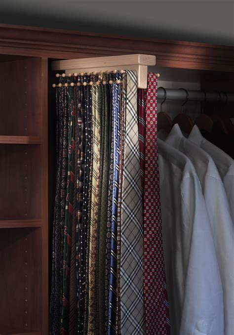 Tie Rack For Closet by Louis Closet Co Tie Butlers Add Tie Storage