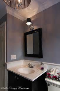 Gray Paint Colors For Bathrooms by This Bathroom Shade Of Light Gray Lavender