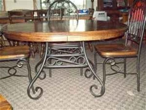 wrought iron and wood table and chairs kitchen upgrades