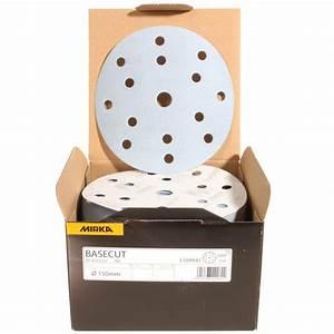 Papier Abrasif Carrosserie : bo te de 100 disques poncer basecut mirka grain 120 ~ Melissatoandfro.com Idées de Décoration