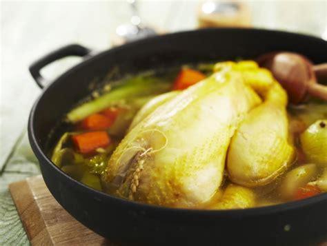 recette poule au pot au riz poule au pot farcie