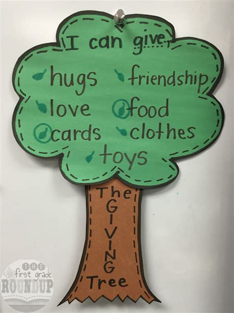 the giving tree firstgraderoundup 702 | givingtree 2