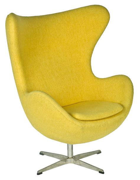 chaise oeuf egg chair inspired by designs of arne jacobsen