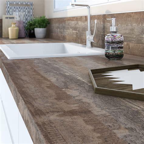 plan de travail bureau leroy merlin plan de travail stratifié vintage wood mat l 315 x p