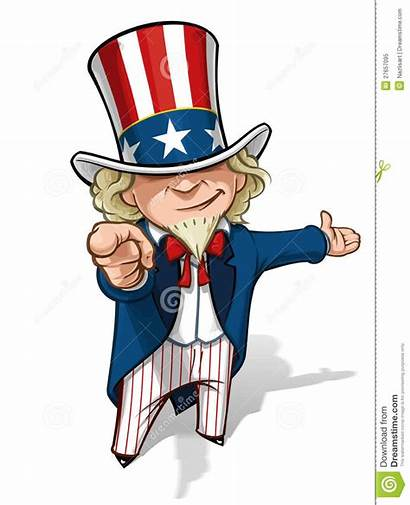 Uncle Sam Want Clipart Cartoon Pointing Wants