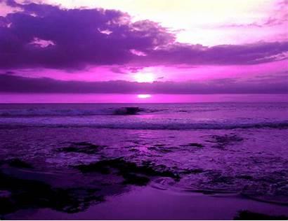 Purple Colors Cool Desktop Violet Sunset Colour
