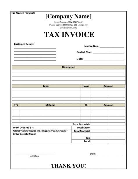 invoice receipt template tax invoice receipt template invoice template ideas