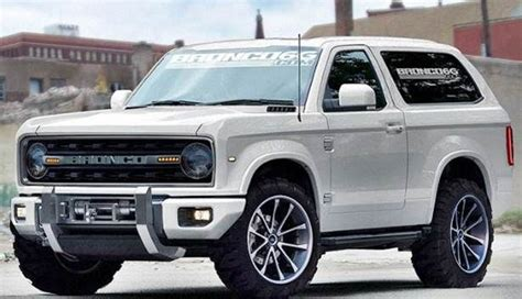 bronco concept ideas  pinterest