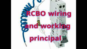 Rcbo Wiring  Rcbo Working   Rcbo Wiring Diagram  Rcbo Application
