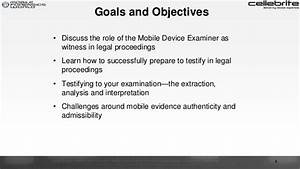 Preparing to Testify About Mobile Device Evidence