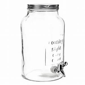 Bonbonne Avec Robinet : bonbonne avec robinet en verre h 30 cm maisons du monde ~ Teatrodelosmanantiales.com Idées de Décoration