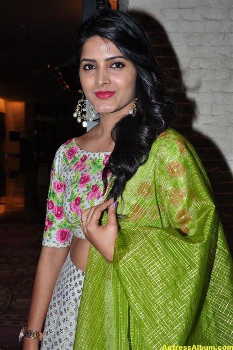 actress pavani gangireddy pics  green dress actress album