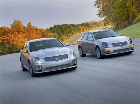 cadillac sts  cts  speed