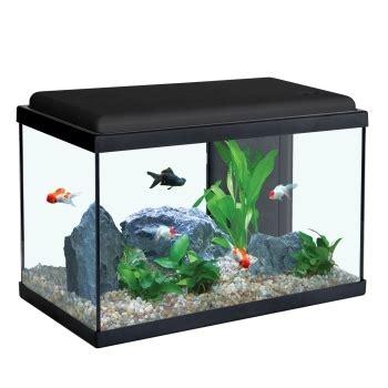 aquarium sarawak noir de 40l aquadisio animalerie truffaut