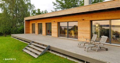 moderner bungalow von baufritz design bungalow