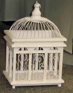 Cage Oiseau Deco : cage oiseau deco blanche ~ Teatrodelosmanantiales.com Idées de Décoration