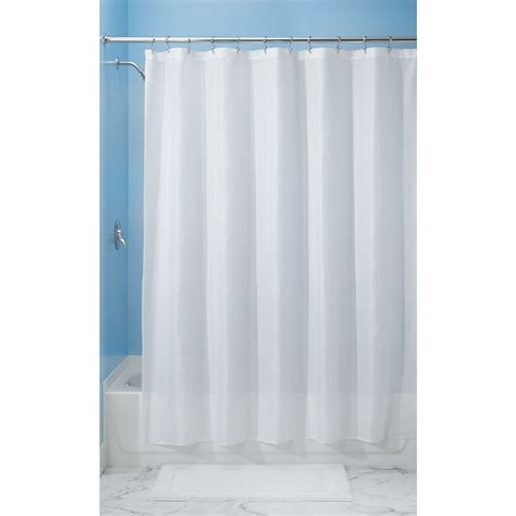 interdesign carlton fabric shower curtain wide 108 x 72