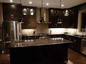 kitchen remodeling black brown kitchen cabinets kitchen With brown and black kitchen designs