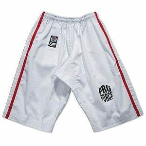 Proforce Gi Size Chart Proforce Gladiator 14 Oz 100 Cotton Karate Pants Black