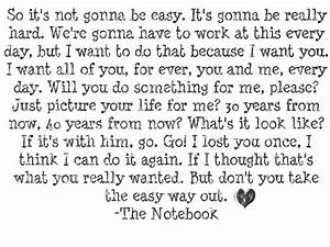 The Notebook quotes | quotes | Pinterest | Notebook quotes ...
