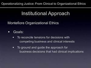 Operationalizing Justice  From Clinical To Organizational