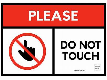 Signs Restriction Prohibition Edit Touch