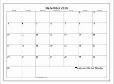 Kalender Dezember 2018 MS Michel Zbinden de