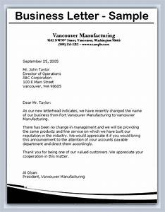 how to write business letter the best letter sample With how to write a business contract letter