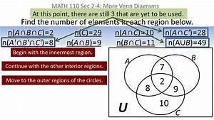 Sets  Venn Diagram Problem