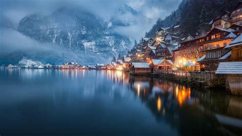 bad goisern hallstaetter  lake  salzkammergut austria