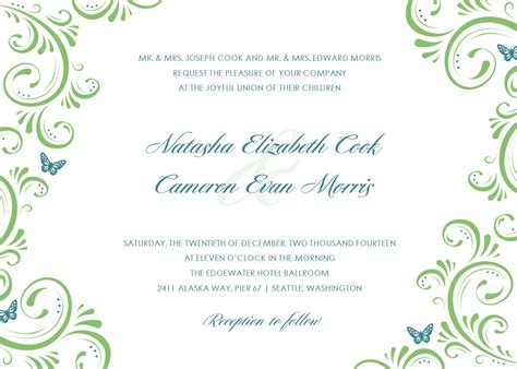 wedding invite template download wedding invitation templates free download gangcraft net