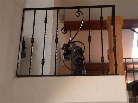 barreau fer forge escalier re d escalier en fer forg 233 avec volutes et barreaux martel 233 s 224 marignane martigues