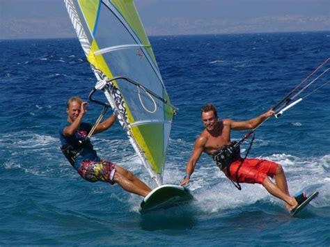 windsurfing kite surfing kos greece kitesurfing and windsurfing agreekadventure
