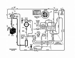 White Riding Mower Wiring Diagram