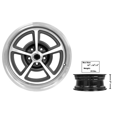 ford mustang magnum alloy wheel     cap