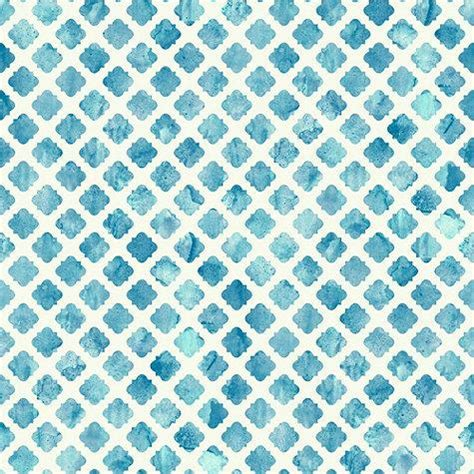watercolor tile wallpaper blue and white roll