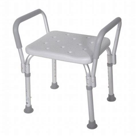 brand new bath bench seat shower chair with padded arms