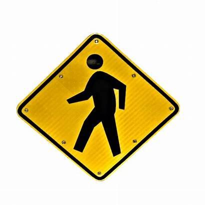 Crosswalk Sign Flashing Solar Powered Signs Safety