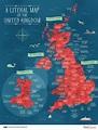 Quid Corner - A Literal Map of the United Kingdom