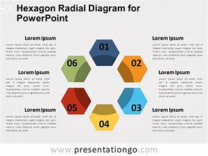 Hexagon Radial Diagram For Powerpoint