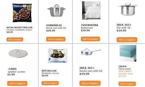 ikea wedding registry ready to assemble wedding presents ikea launches gift registry so you can treat the and