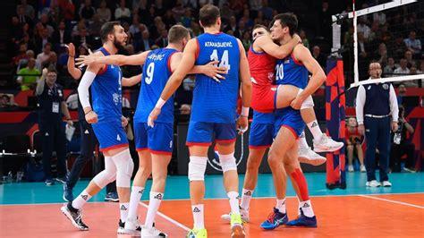 Serbija četros setos uzvar pārsteidzošo Slovēniju un trešo reizi triumfē EČ - Volejbols ...