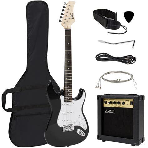 Full Size Electric Guitar + 10 Watt Amp + Gig Bag Case