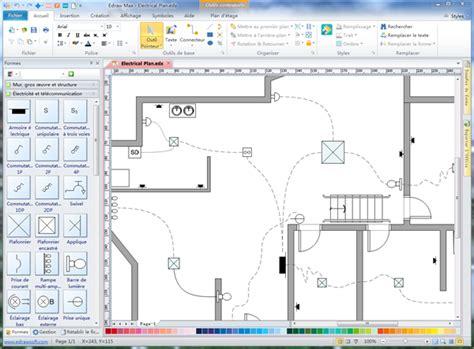 logiciel gestion cuisine plan de système électrique et de télécommunication
