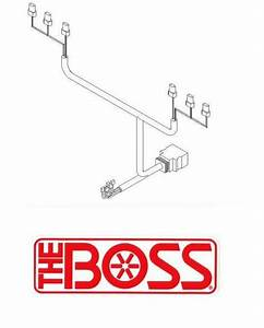 Boss Snow Plow 13 Pin Wiring Harness Plow Side Msc08881