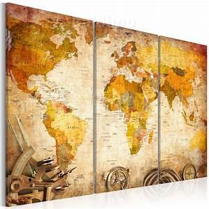 Leinwand Xxl Kaufen : wandbilder xxl weltkarte landkarte leinwand bilder 120x80 90x60 60x40 030115 55 ebay ~ Whattoseeinmadrid.com Haus und Dekorationen