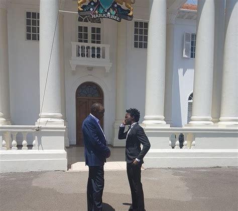president uhuru holds meeting  bahati